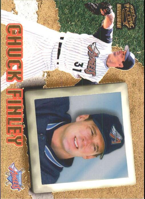 1998 Pacific Invincible #4 Chuck Finley
