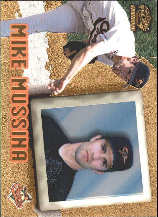 1998 Pacific Invincible #10 Mike Mussina