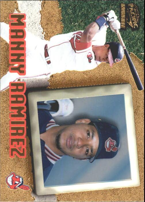 1998 Pacific Invincible #25 Manny Ramirez