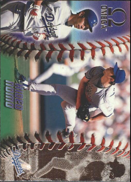 1998 Pacific Omega #127 Hideo Nomo