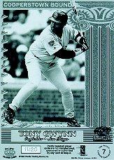 1998 Paramount Cooperstown Bound Pacific Proofs #7 Tony Gwynn