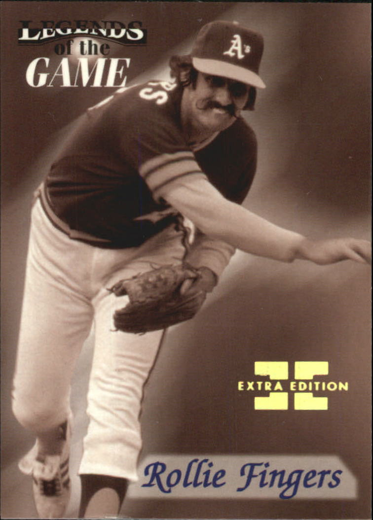 1998 Sports Illustrated Then and Now Extra Edition #10 Rollie Fingers