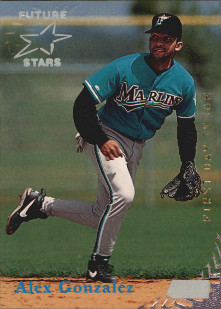 1998 Stadium Club First Day Issue #365 Alex Gonzalez