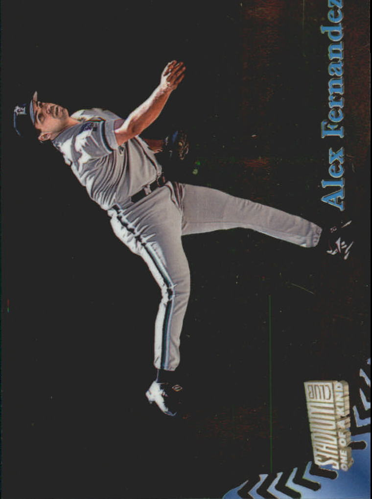 1998 Stadium Club One Of A Kind #267 Alex Fernandez
