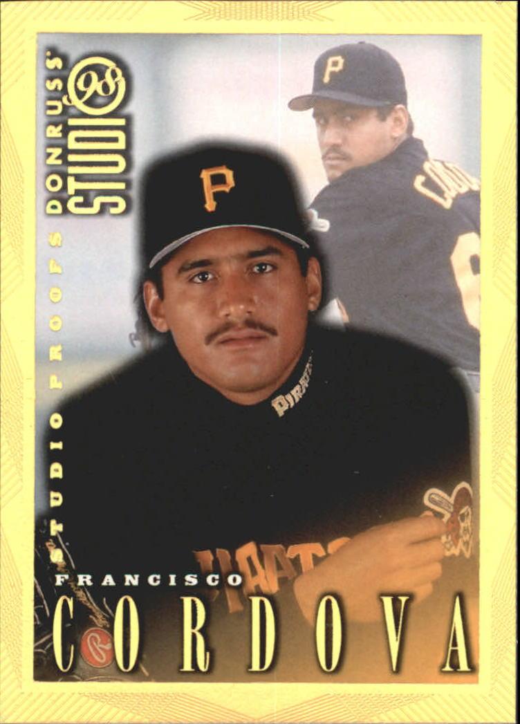 1998 Studio Gold Press Proofs #10 Francisco Cordova