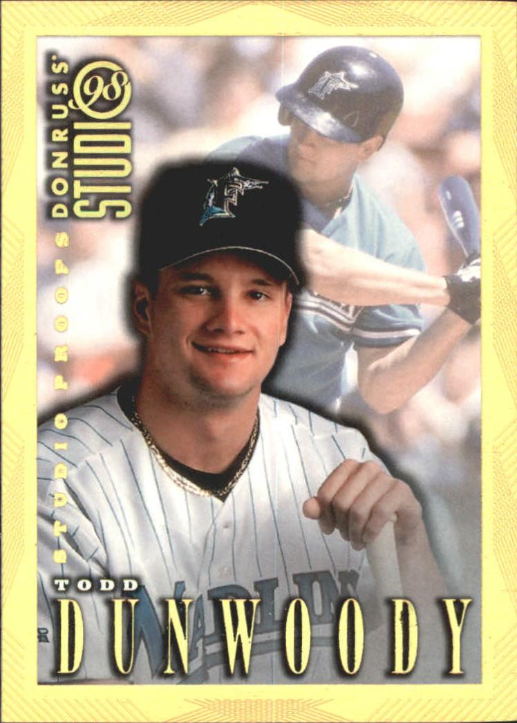 1998 Studio Gold Press Proofs #65 Todd Dunwoody
