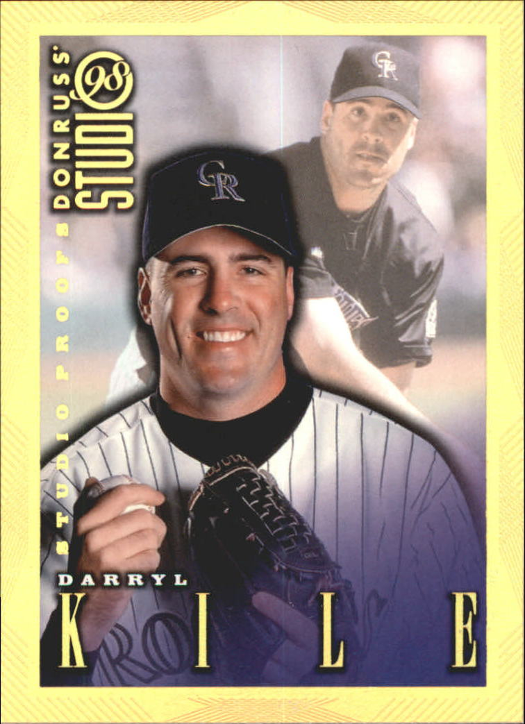 1998 Studio Gold Press Proofs #72 Darryl Kile
