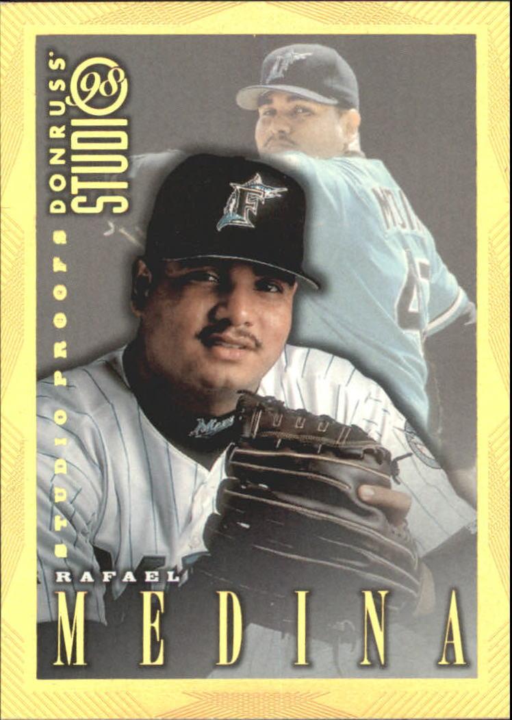 1998 Studio Gold Press Proofs #150 Rafael Medina