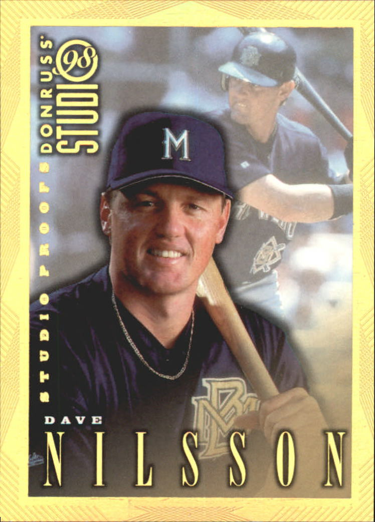 1998 Studio Gold Press Proofs #151 Dave Nilsson