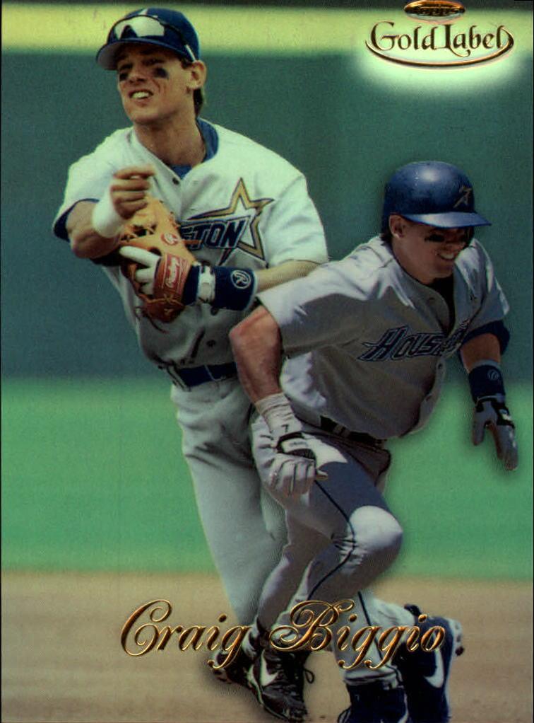1998 Topps Gold Label Class 1 #5 Craig Biggio