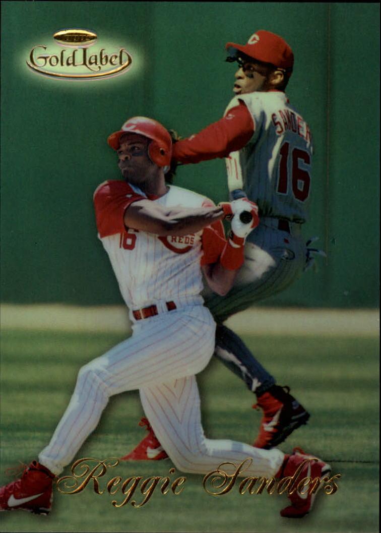 1998 Topps Gold Label Class 1 #13 Reggie Sanders