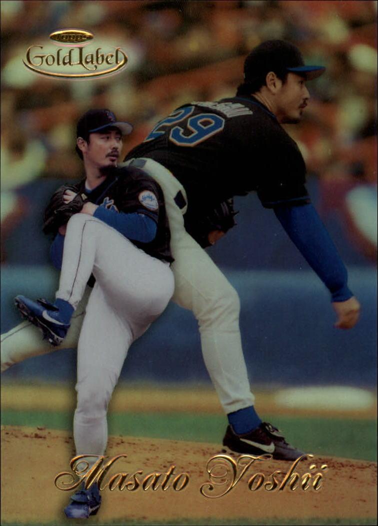 1998 Topps Gold Label Class 1 #22 Masato Yoshii RC