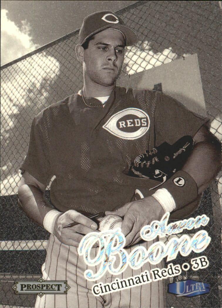 1998 Ultra Platinum Medallion #226 Aaron Boone PROS