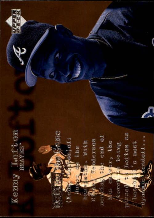 1998 Upper Deck #148 Kenny Lofton DG