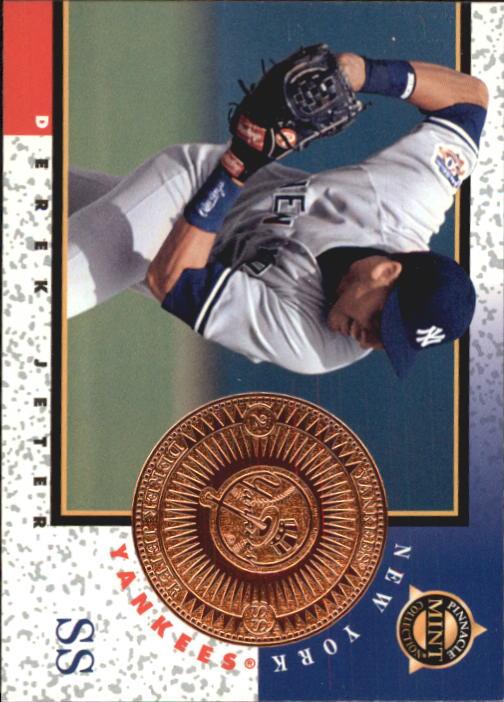 1998 Pinnacle Mint Bronze #9 Derek Jeter
