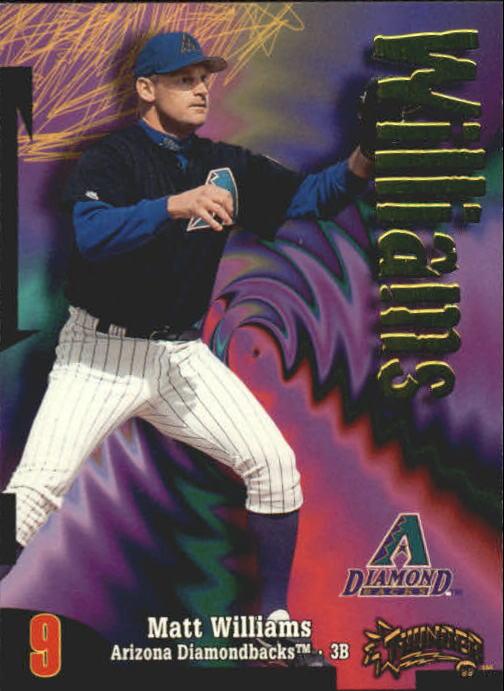 1998 Circa Thunder #9 Matt Williams