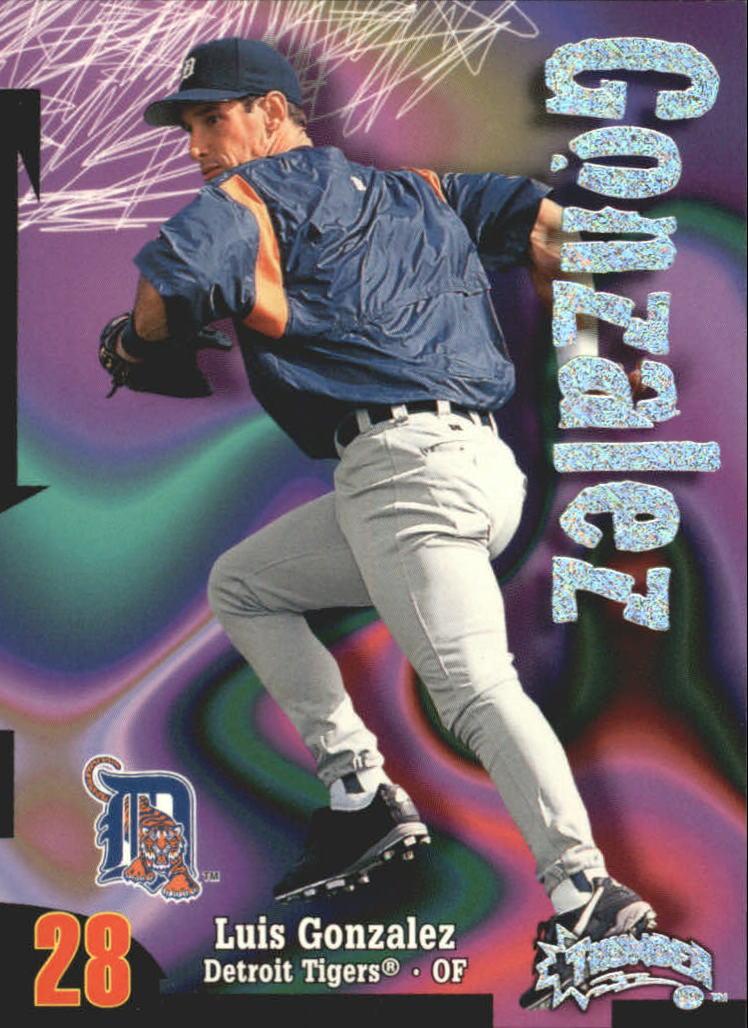 1998 Circa Thunder Rave #39 Luis Gonzalez