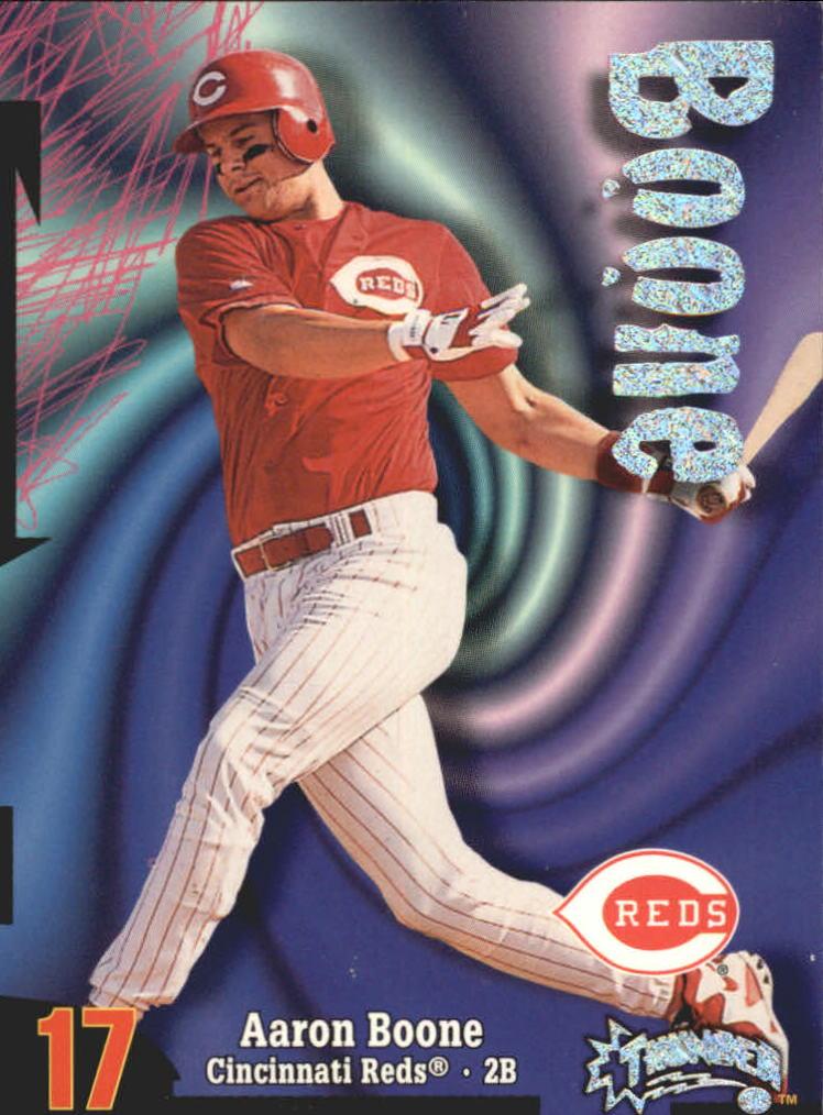 1998 Circa Thunder Rave #176 Aaron Boone