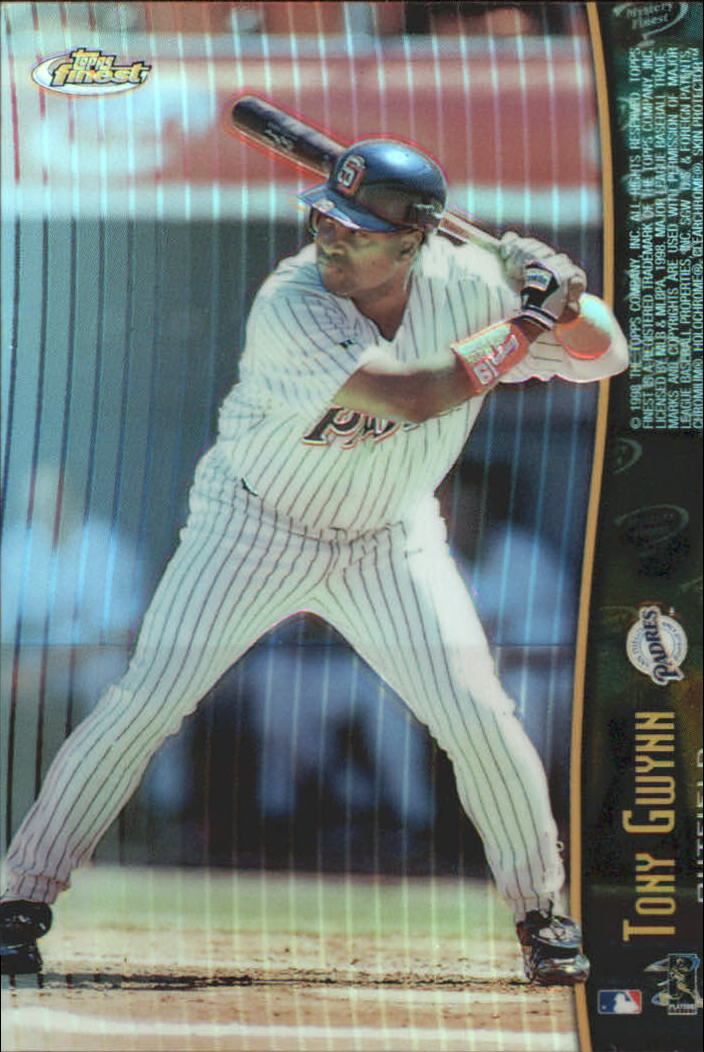 1998 Finest Mystery Finest 1 #M21 C.Ripken/T.Gwynn