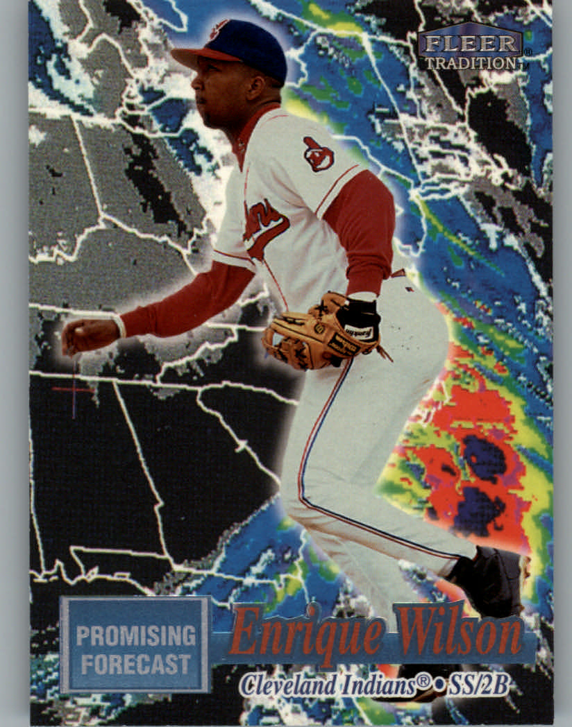 1998 Fleer Tradition Promising Forecast #PF19 Enrique Wilson