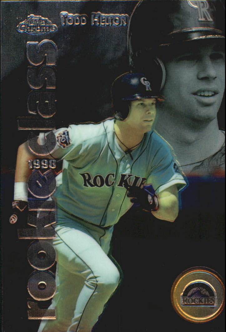 1998 Topps Chrome Rookie Class #R3 Todd Helton