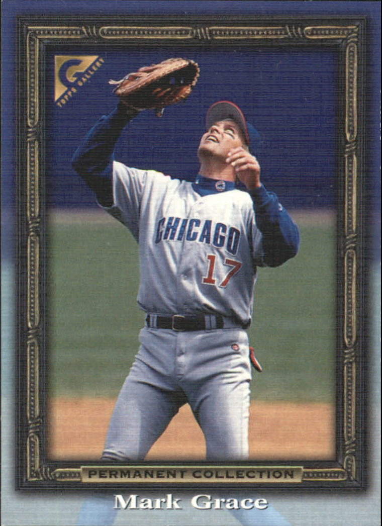 1998 Topps Gallery Gallery Proofs #58 Mark Grace
