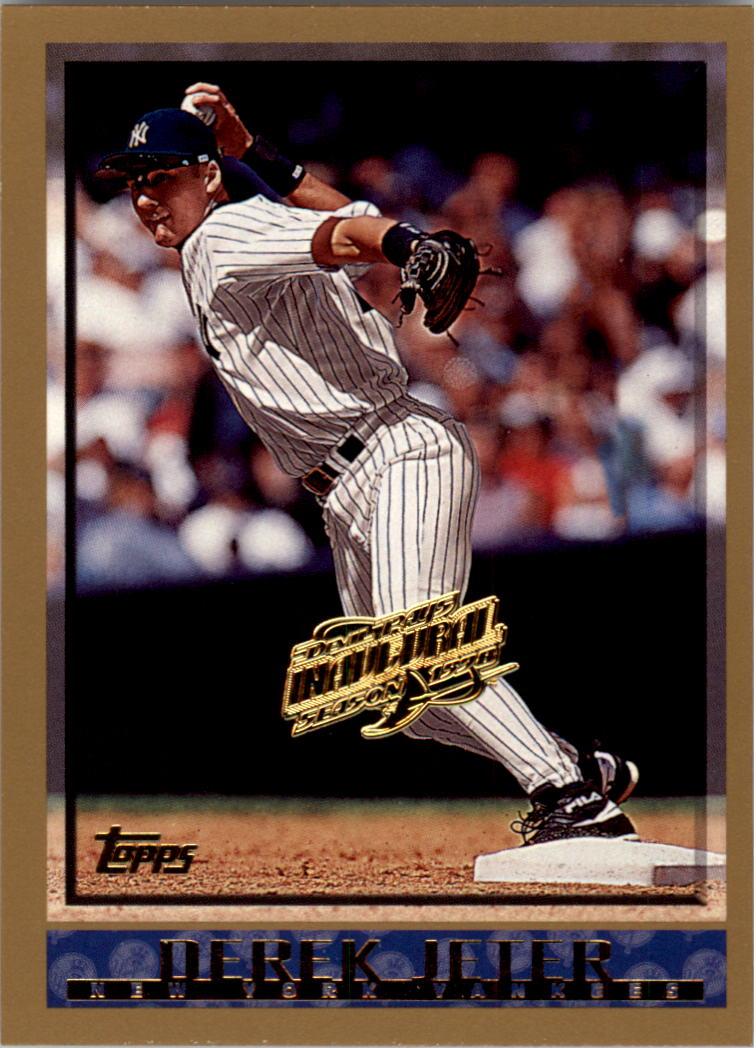 1998 Topps Inaugural Devil Rays #160 Derek Jeter