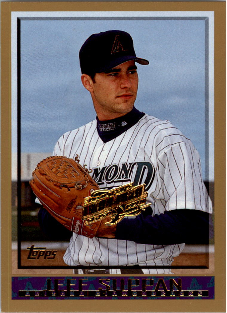 1998 Topps Inaugural Devil Rays #377 Jeff Suppan