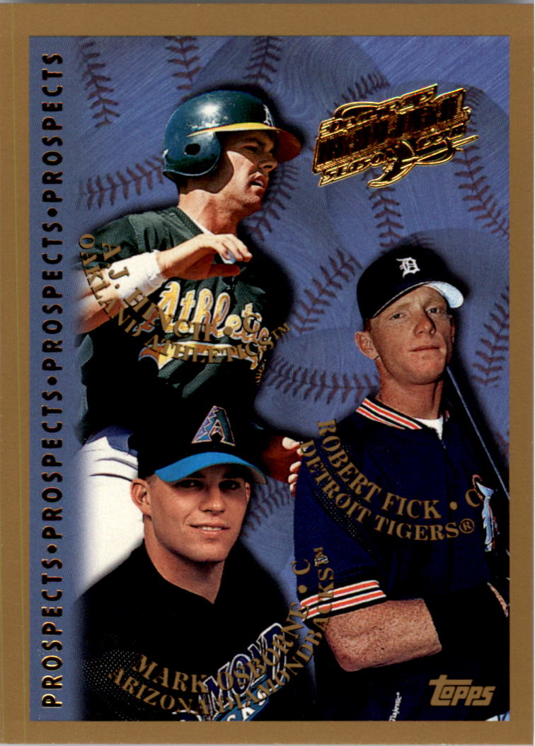 1998 Topps Inaugural Devil Rays #487 Rob Fick
