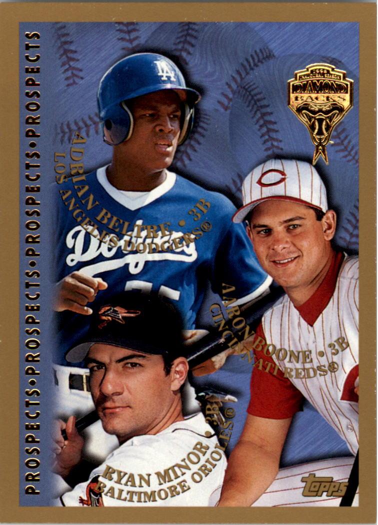 1998 Topps Inaugural Diamondbacks #254 R.Minor RC/A.Beltre