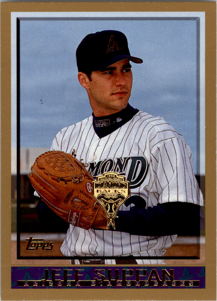 1998 Topps Inaugural Diamondbacks #377 Jeff Suppan