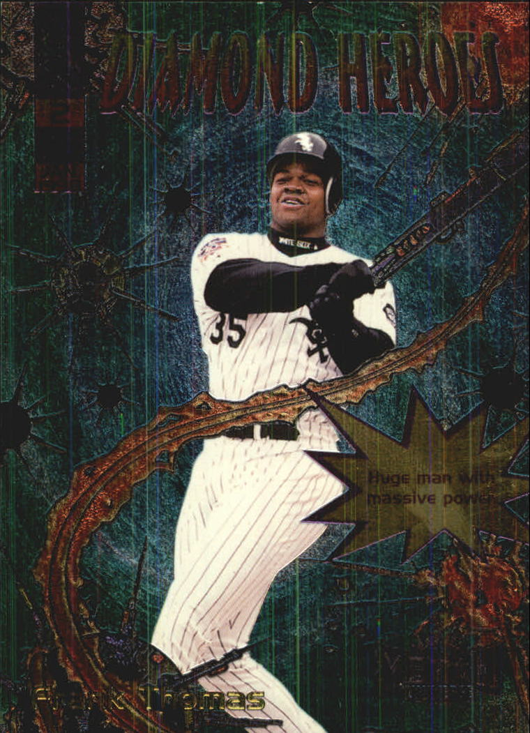 1998 Metal Universe Diamond Heroes #2 Frank Thomas