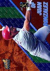 1998 Aurora Pennant Fever Copper #19 Juan Gonzalez