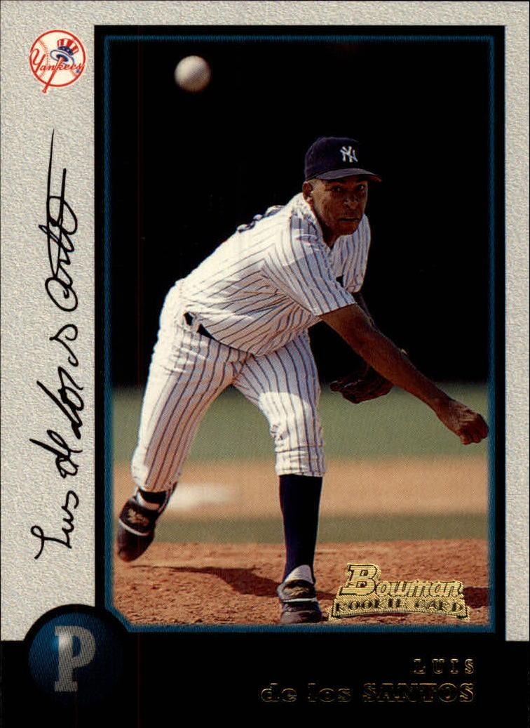 1998 Bowman #146 Luis De Los Santos RC