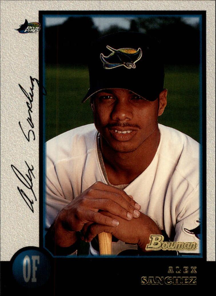 1998 Bowman #152 Alex Sanchez