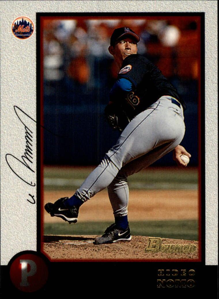 1998 Bowman #289 Hideo Nomo