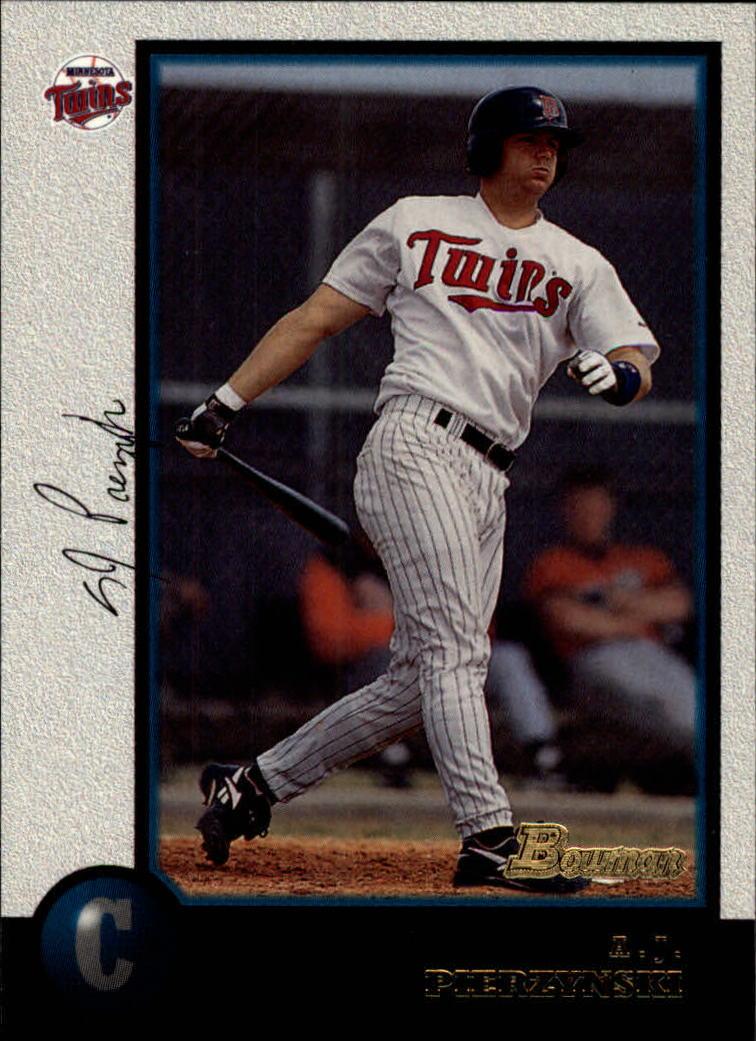1998 Bowman #319 A.J. Pierzynski