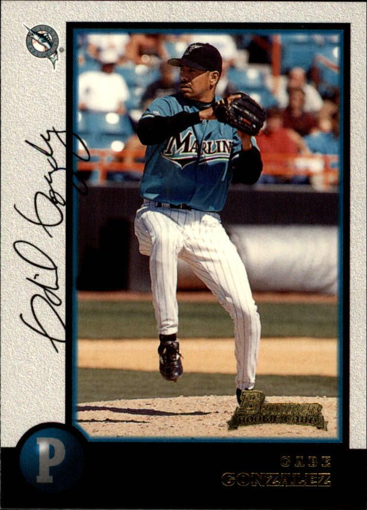 1998 Bowman #343 Gabe Gonzalez RC