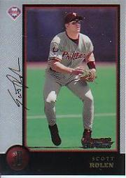 1998 Bowman Chrome #2 Scott Rolen