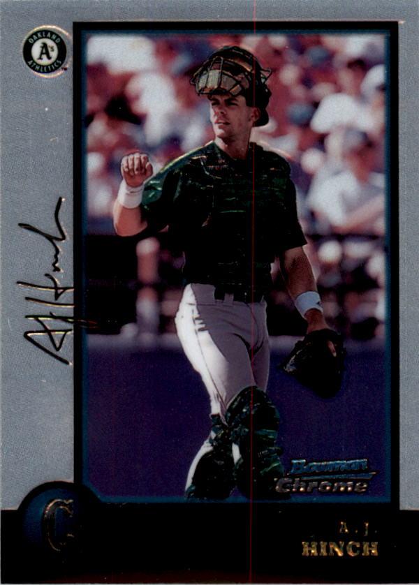 1998 Bowman Chrome #216 A.J. Hinch