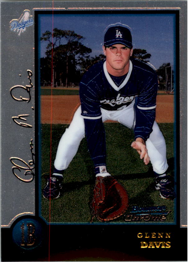 1998 Bowman Chrome #402 Glenn Davis