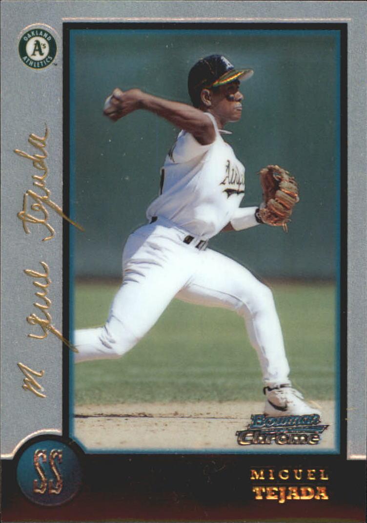 1998 Bowman Chrome Golden Anniversary #205 Miguel Tejada