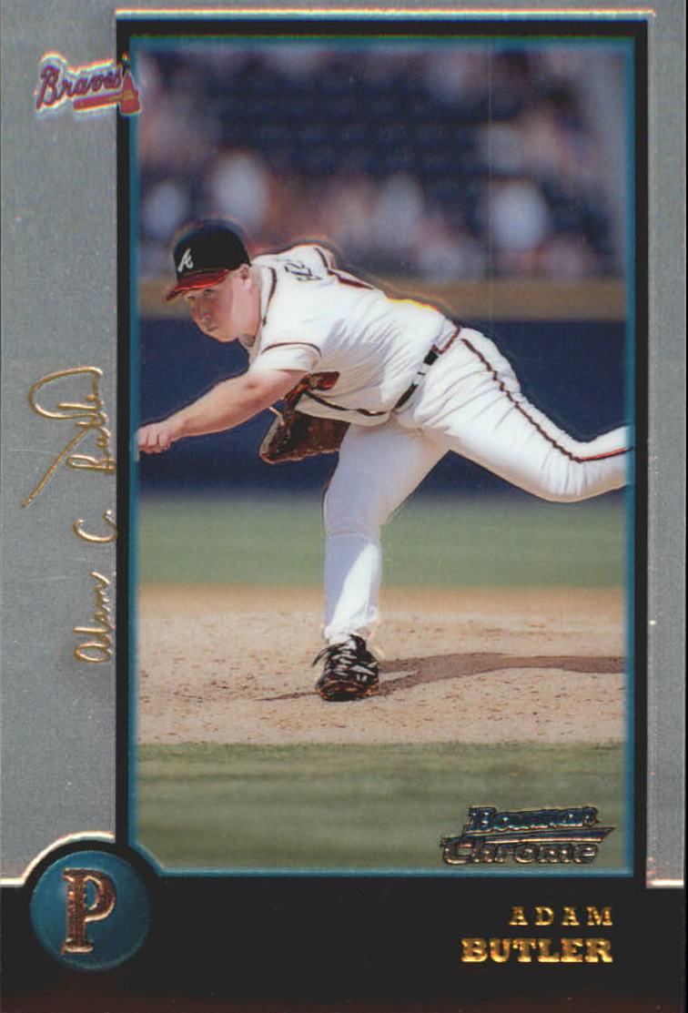 1998 Bowman Chrome Golden Anniversary #384 Adam Butler