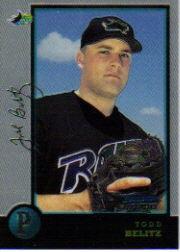 1998 Bowman Chrome Golden Anniversary #431 Todd Belitz
