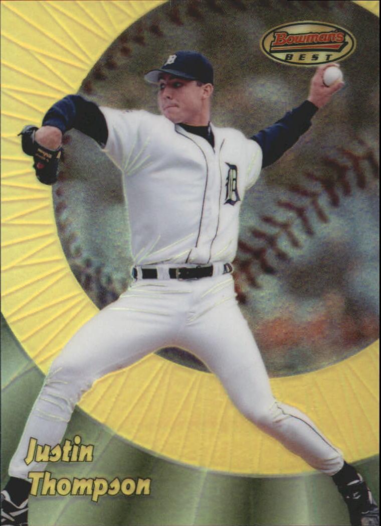1998 Bowman's Best Refractors #26 Justin Thompson