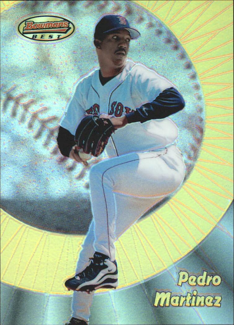 1998 Bowman's Best Refractors #38 Pedro Martinez