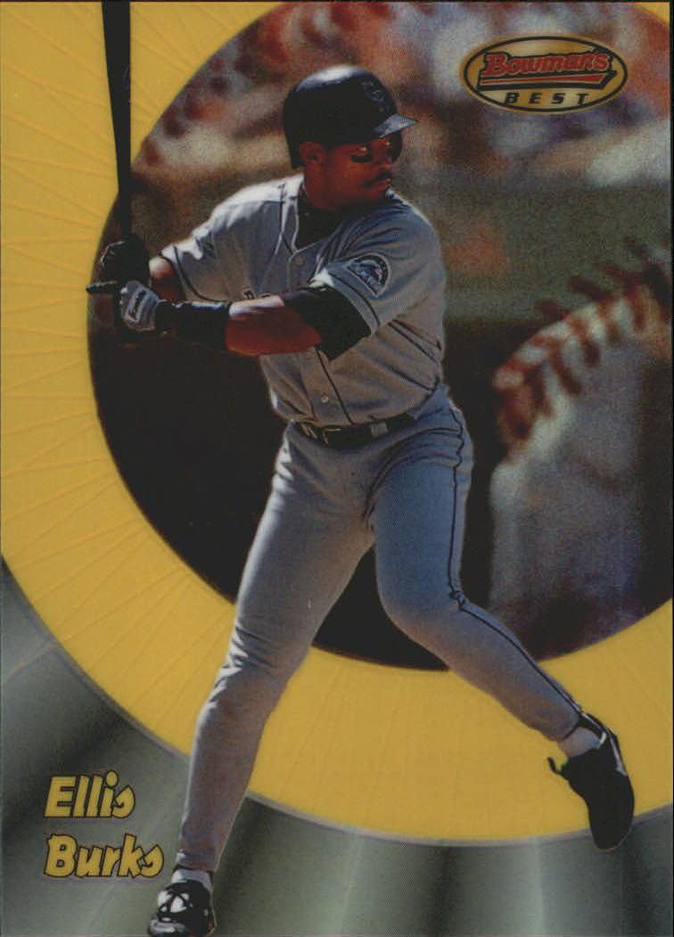 1998 Bowman's Best Refractors #53 Ellis Burks