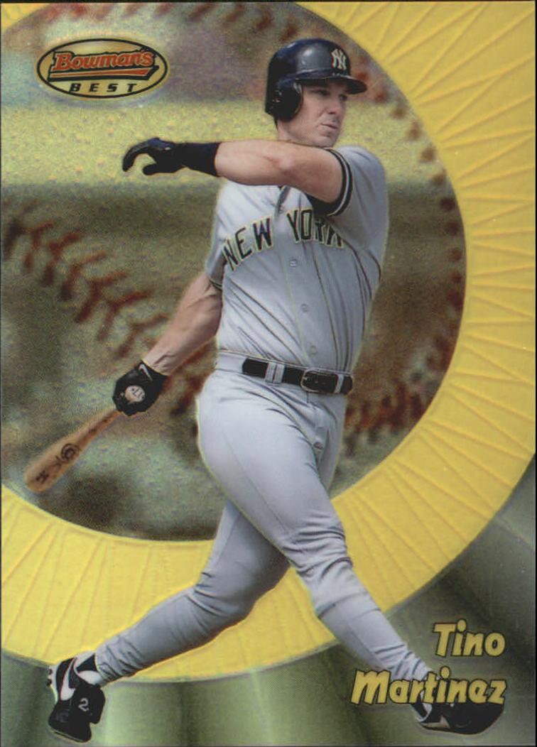 1998 Bowman's Best Refractors #65 Tino Martinez