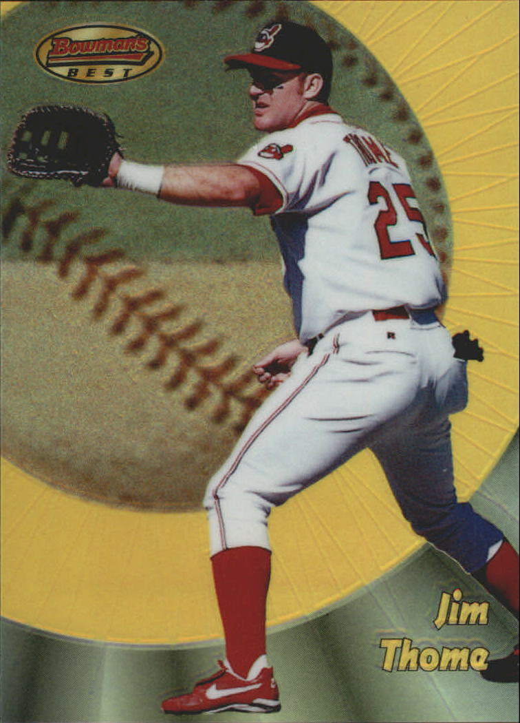 1998 Bowman's Best Refractors #66 Jim Thome