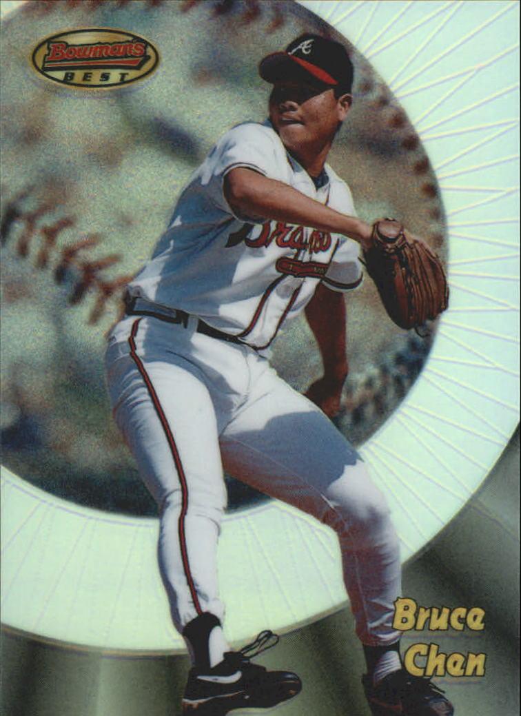 1998 Bowman's Best Refractors #118 Bruce Chen